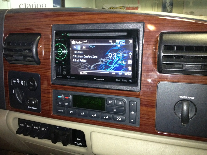 hanover client gets in dash dvd installed in f150 mobile video. Black Bedroom Furniture Sets. Home Design Ideas