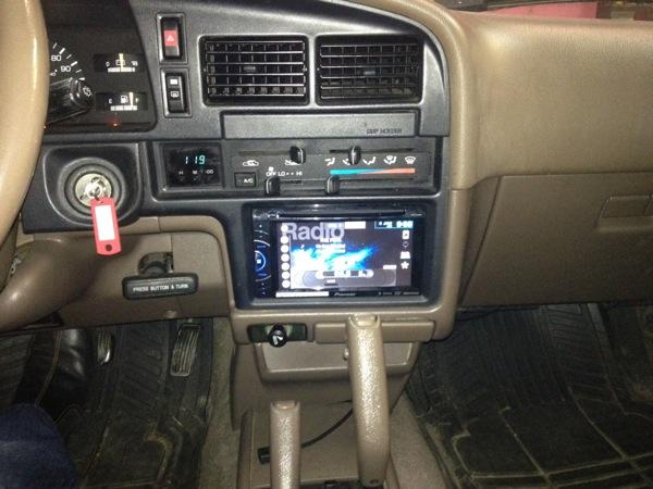 2004 toyota 4runner stereo upgrade