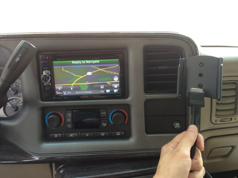 Gmc Gps Upgrade In 2003 Denali Pleases Westminster Client