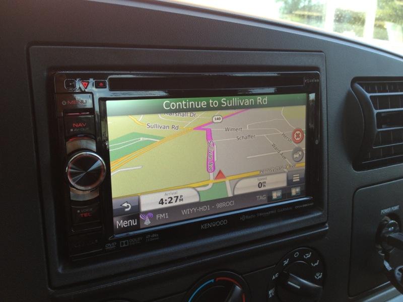 ford f350 navigation backup camera audio upgrade and much more. Black Bedroom Furniture Sets. Home Design Ideas