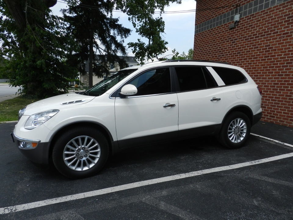 Buick Enclave Window Tint Installation Solves Glare Issue