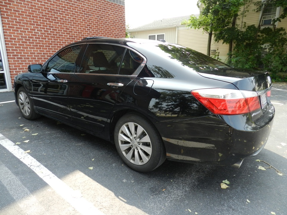 Honda Accord Window Tint Client Wants To Stay Cool