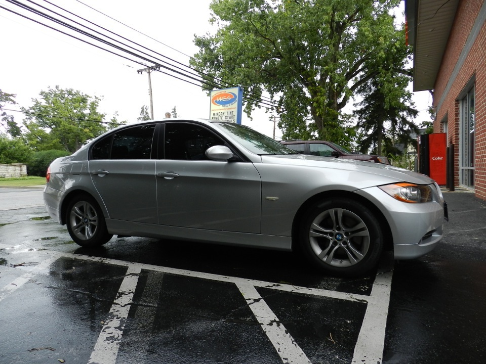 Bmw Window Tint Installation Improves Appearance