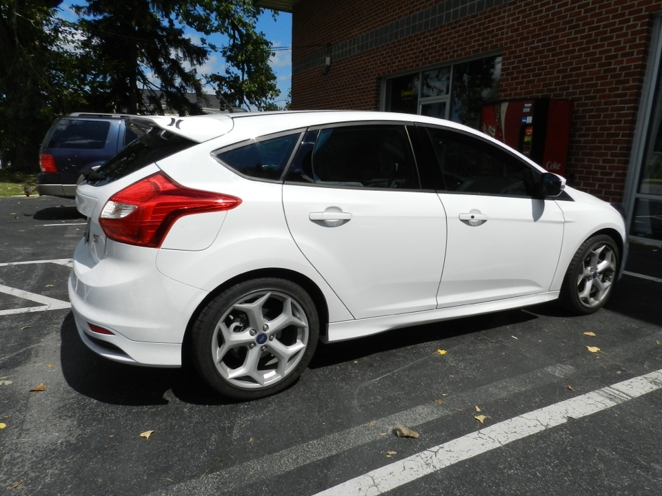 Glyndon window tint client makes his ford a focus for 10 window tint