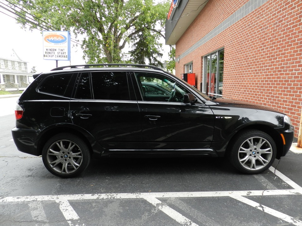 Bmw X3 Window Tint Project Adds Privacy To Back Of Suv
