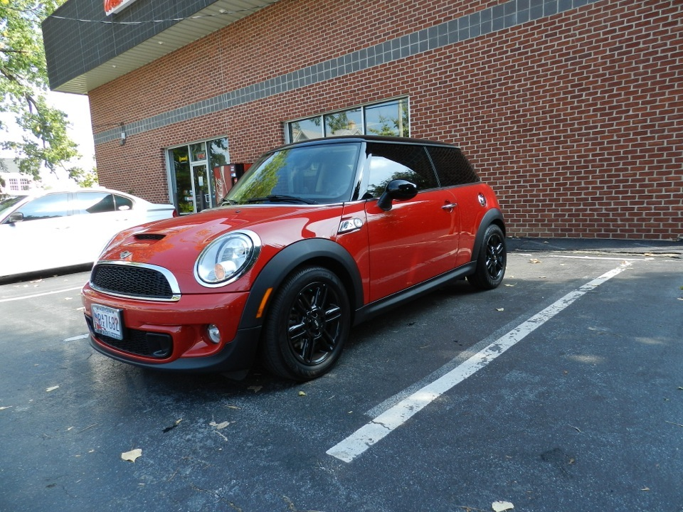 Mini Cooper S Tint 1 Westminster Speed