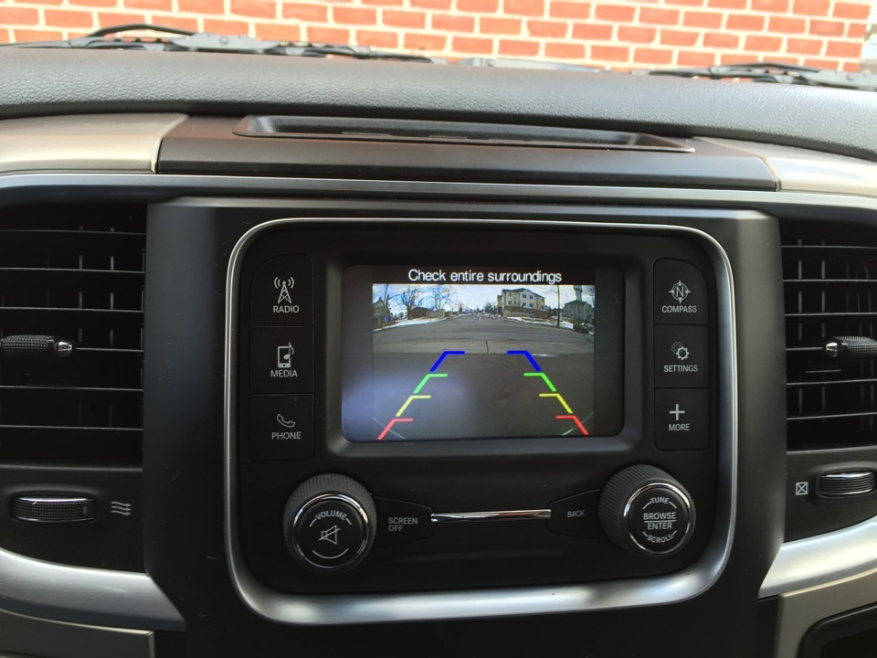 Dodge Ram Backup Camera Provides A Safer Experience