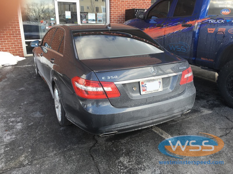 Mercedes benz e350 upgrades 3 westminster speed for Mercedes benz westminster