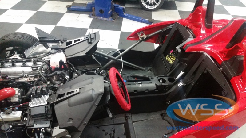 Polaris Slingshot Stereo 14 Westminster Speed