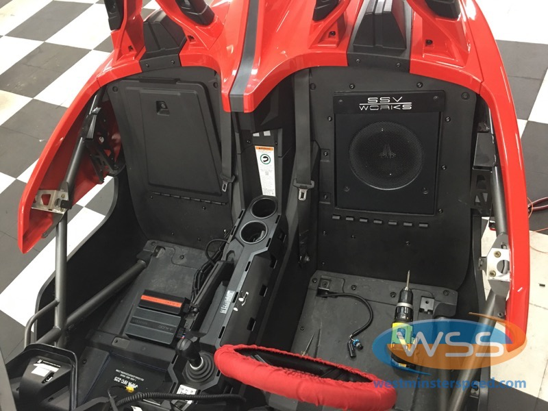 Polaris Slingshot Stereo 3 Westminster Speed