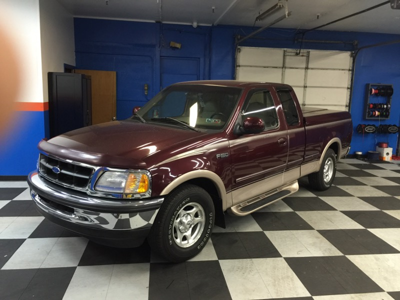 1997 ford f 150 gets new radio and backup camera system. Black Bedroom Furniture Sets. Home Design Ideas