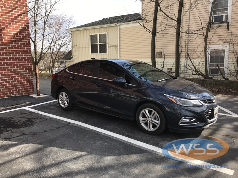Chevy Cruze Window Tint 1 Westminster Speed