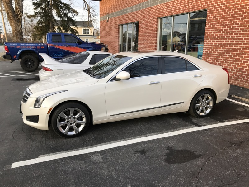 Westminster Client Comes To Wss For Cadillac Ats Window Tint