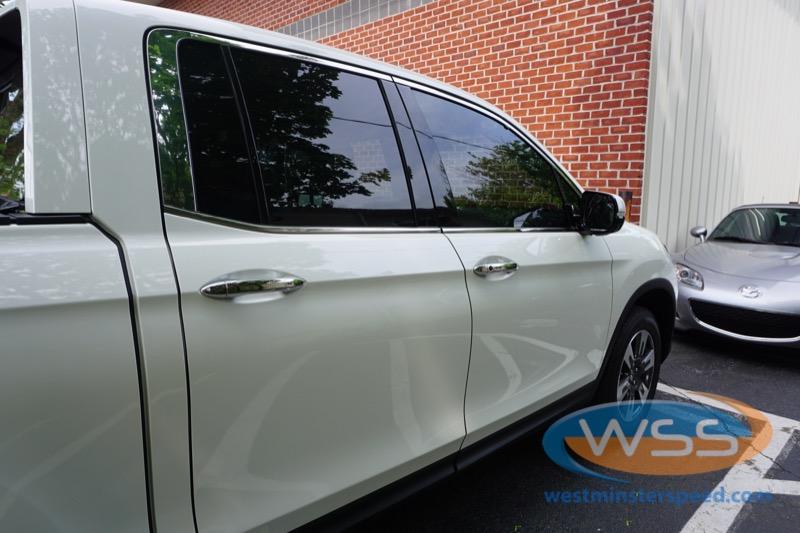 Honda ridgeline window tint 4 westminster speed for Honda window tinting